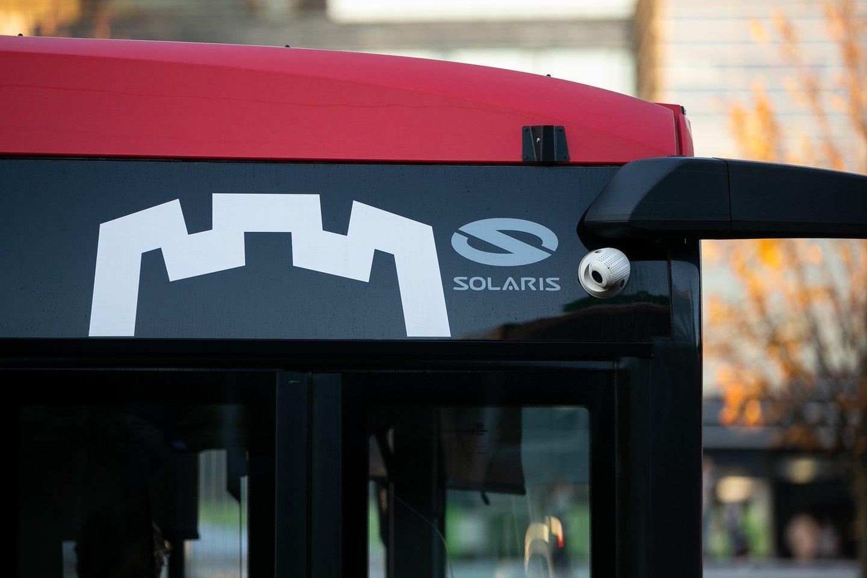 Iki 2023 m. sostinės viešojo transporto parką papildys dar mažiausiai 22 nauji dujiniai arba elektriniai autobusai.<br>Pranešėjų spaudai nuotr.