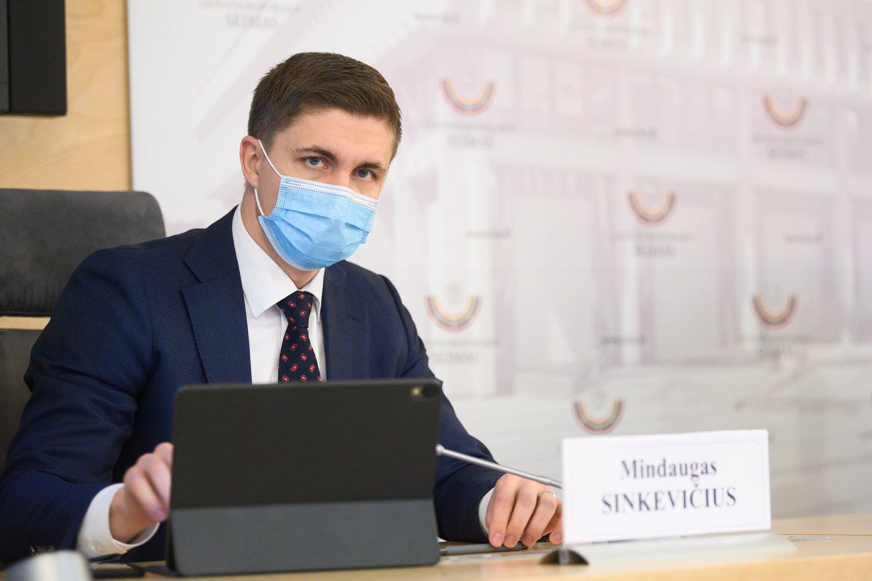 M.Sinkevičius.<br>V.Skaraičio nuotr.
