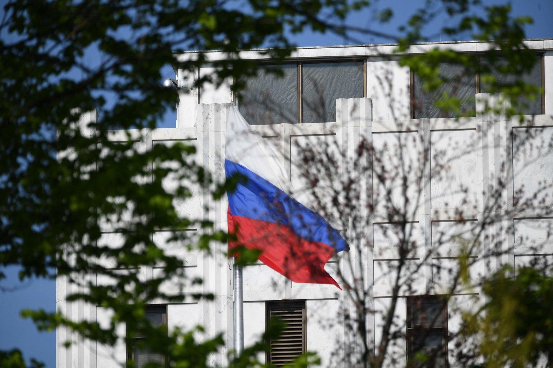 Čekijos vyriausybė šeštadienį paskelbė išsiunčianti iš šalies 18 rusų diplomatų,(Asociatyvi nuotr.)<br>AFP/Scanpix nuotr.
