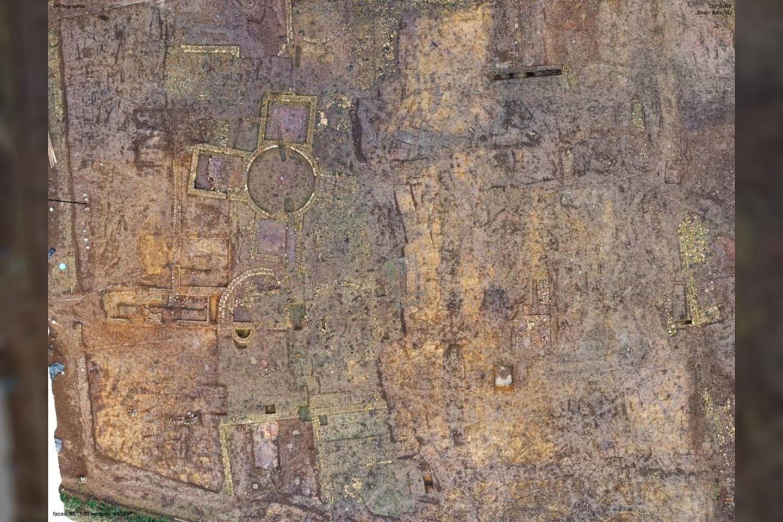 """Mokslininkai netoli Skarboro miesto atrado tai, kas galėjo būti prabangi romėnų vila.<br>""""Istorinės Anglijos"""" nuotr."""