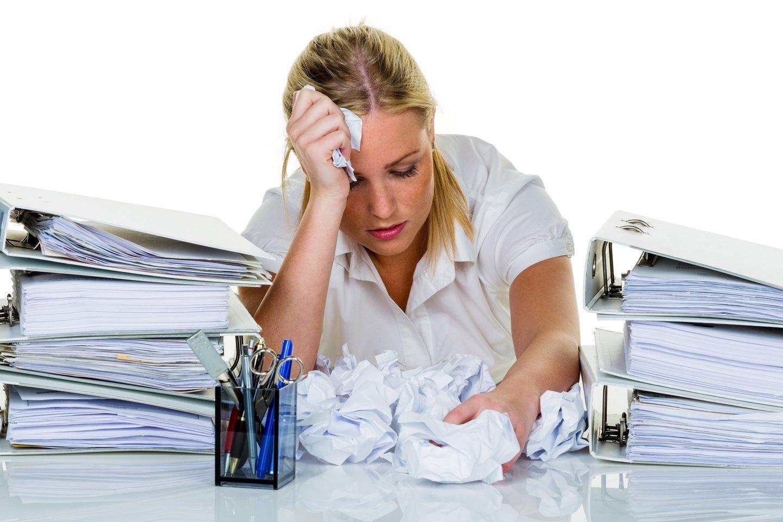 Specialistai atkreipia dėmesį, kad nuovargis, atsiradęs apatijos jausmas gali signalizuoti ir apie profesinį perdegimą.<br>123rf nuotr.
