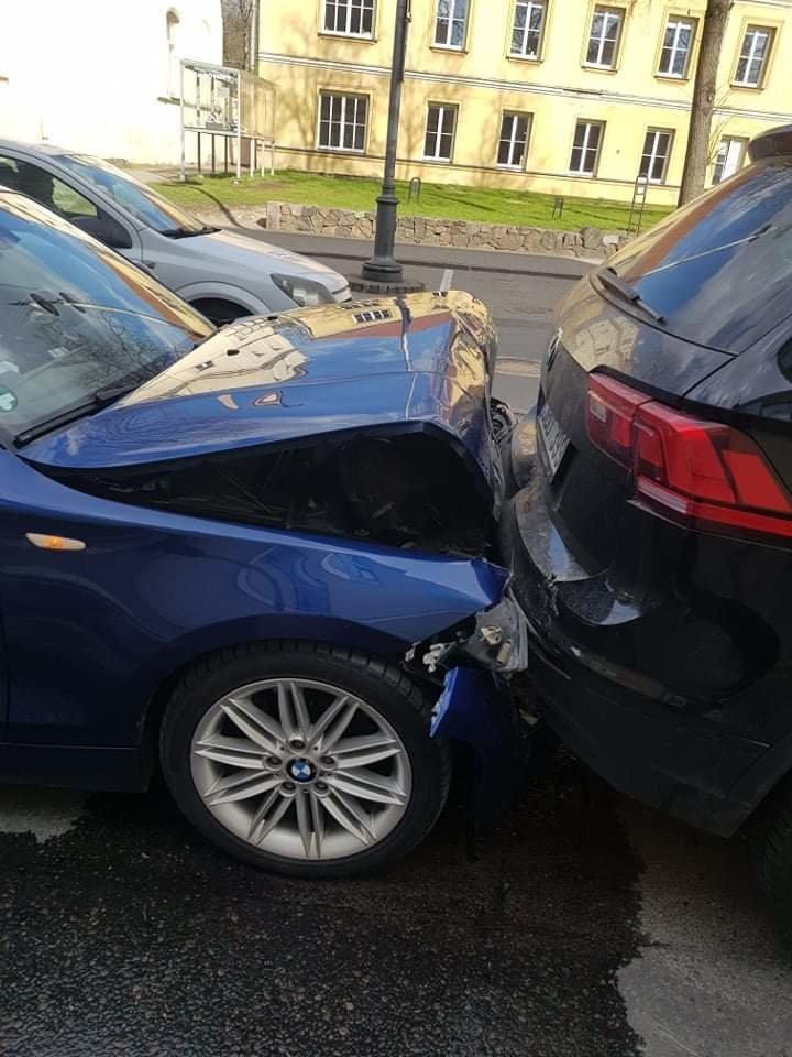 J.Džiugelis pirmadienį pateko į avariją.<br>Skaitytojo nuotr.