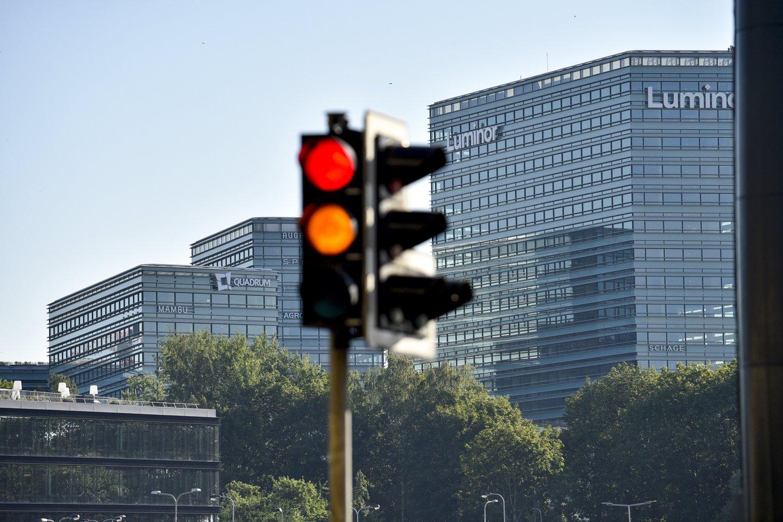 """Gegužės 1 d. dėl šventinės dienos nedirbs visi """"Luminor"""" banko klientų konsultavimo centrai.<br>V.Ščiavinsko nuotr."""