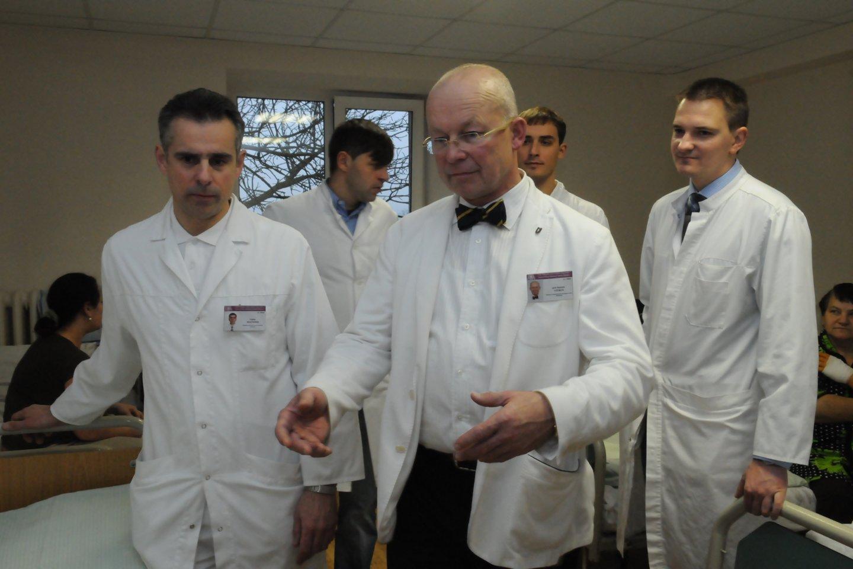 Profesorius Kęstutis Vitkus<br>Petro Katauskio nuotr.