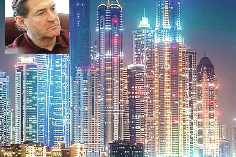 Lėktuvas, kuriuo O.Škilis skrido į Maldyvus, trumpam nusileido Dubajuje. Čia šis Rusijos veikėjas ir buvo sulaikytas.
