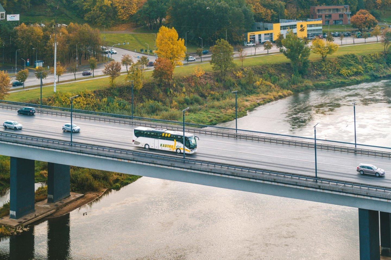 """Tarpmiestinių keleivių vežėja """"Kautra"""" nuo balandžio 22 dienos atnaujina papildomus reisus.<br>Pranešėjų spaudai nuotr."""