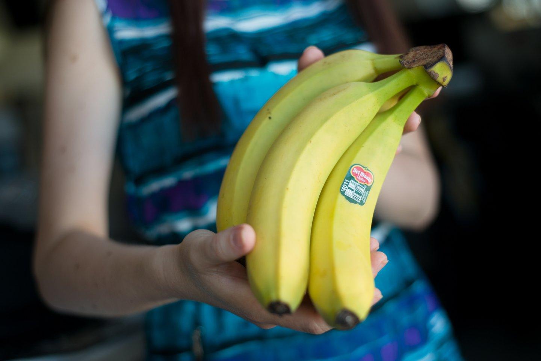 Bananai – vieni mėgstamiausių lietuvių vaisių.<br>J.Stacevičiaus nuotr.