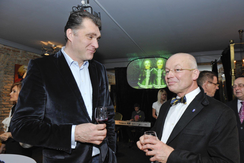 A.Sabonis ir K.Vitkus 2011-aisiais.<br>V.Ščiavinsko nuotr.