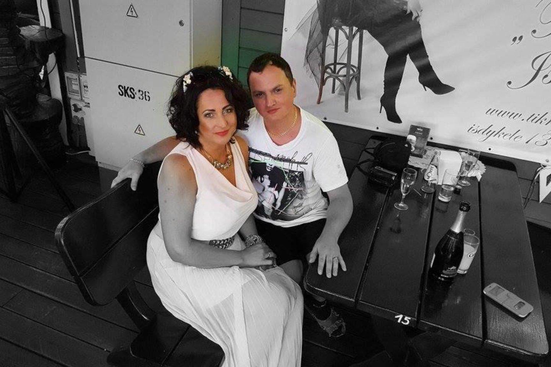 Su dainininke Aušrine.<br>Asmeninio archyvo nuotr.