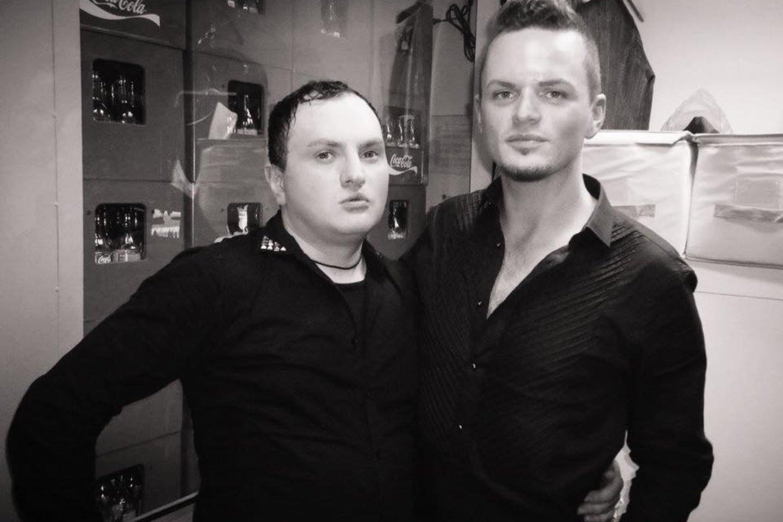 Su Ruslanu Kirilkinu.<br>Asmeninio archyvo nuotr.
