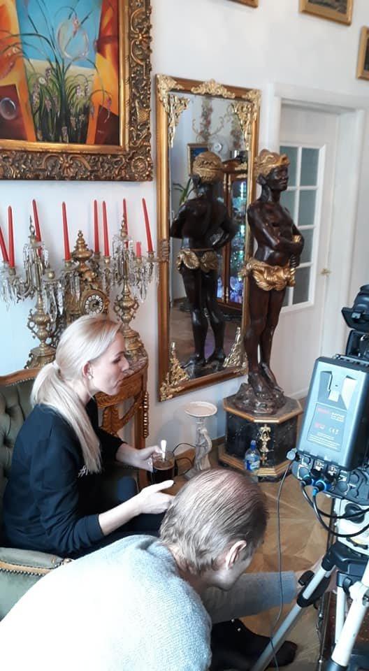 Povilo namuose ne kartą filmuotos TV laidos.<br>Asmeninio archyvo nuotr.
