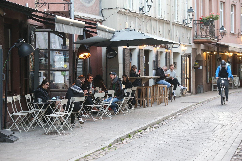 Lietuvoje nuo ketvirtadienio duris atveria maitinimo įstaigos.<br>R.Danisevičiaus nuotr.