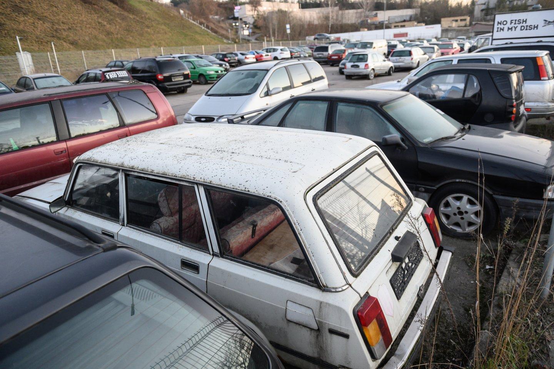 Visų transporto priemonių savininkus registruosianti nauja apskaitos sistema turėtų ištraukti iš automobilių verslo šešėlio ir importuotojus.<br>V.Skaraičio nuotr.