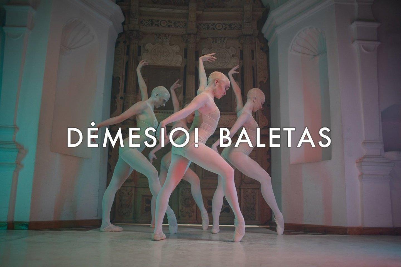"""Klaipėdos valstybinis muzikinis teatras sceną publikai atveria pareikšdamas: """"Dėmesio! Baletas 2021"""".<br> Klaipėdos valstybinio muzikinio teatro nuotr."""