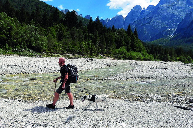 Į kovą su vėžiu stojęs italas A.Spinelli pėsčiomis jau nuėjo dešimtis milijonų žingsnių.<br>Nuotr. iš asmeninio albumo