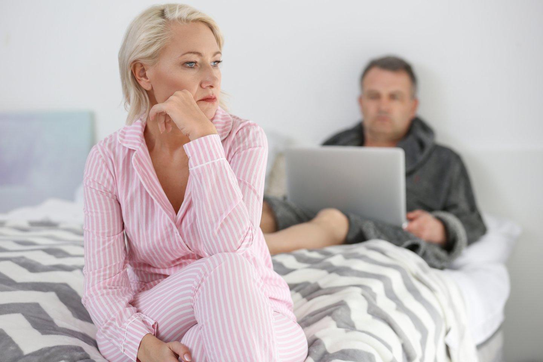 Vyras atsisakė mylėtis su savo žmona. Dėl to ji įtarė neištikimybę, bet vyro paaiškinimas buvo kitoks.<br>123rf.com asociatyvioji nuotr.