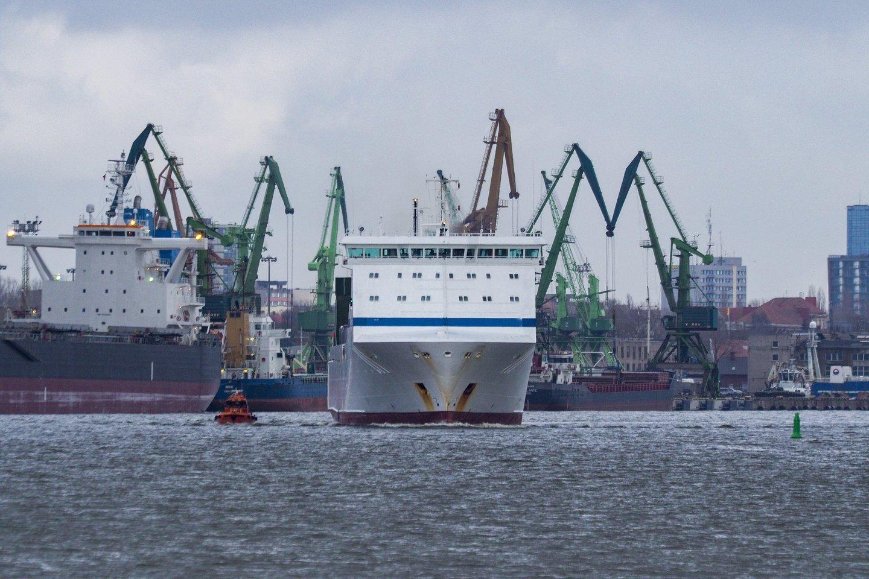 Baltarusijos įmonės gali stabdyti krovinių gabenimą į Klaipėdos uostą, nes jie gali būti jame areštuoti.<br>V.Ščiavinsko nuotr.