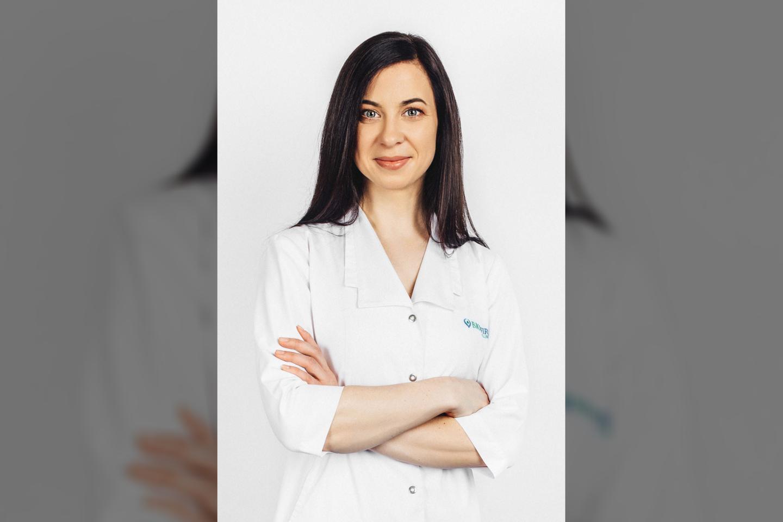 Gydytoja gastroenterologė Dalia Kasperavičiūtė.<br>Pranešimo spaudai nuotr.