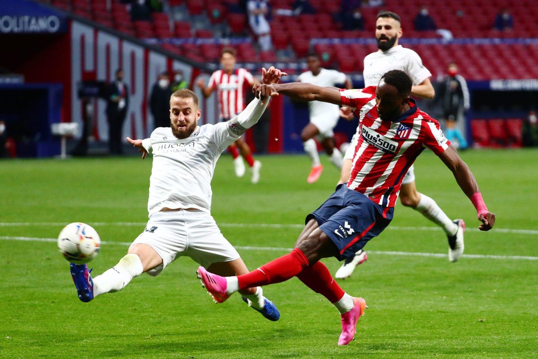 """Atletico"" vėl žengia pirmoje vietoje.<br>Reuters/Scanpix.com nuotr."