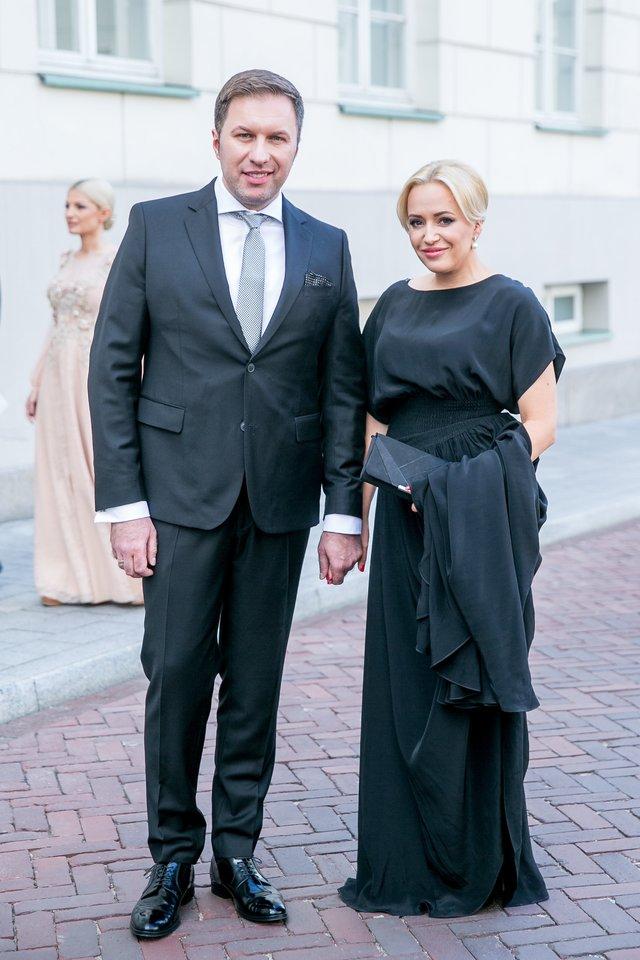 Elena Puidokaitė-Bruzgulienė su vyru Tadu Bruzguliu sulaukė šeimos pagausėjimo.<br>T.Bauro nuotr.