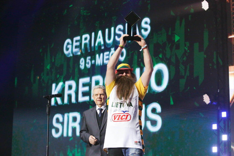 2017 metais pompastiškai buvo švenčiamas Lietuvos krepšinio 95-metis.<br>G.Bitvinsko nuotr.