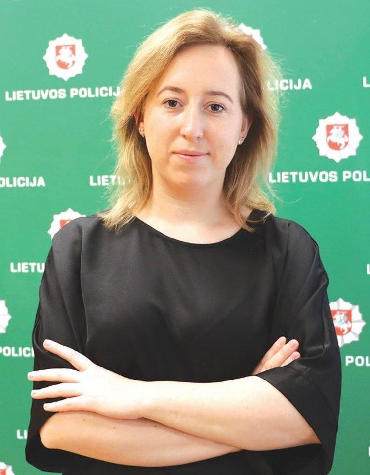"""Policijos atstovė Odeta Vaitkevičienė<br>""""Rinkos aikštės"""" nuotr."""