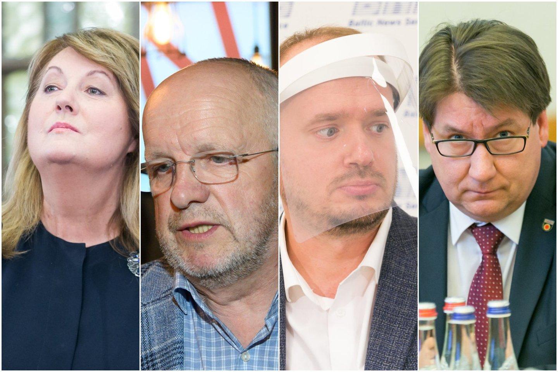 Dėl LSDP pirmininko posto varžysis 4 kandidatai.<br>Lrytas.lt koliažas