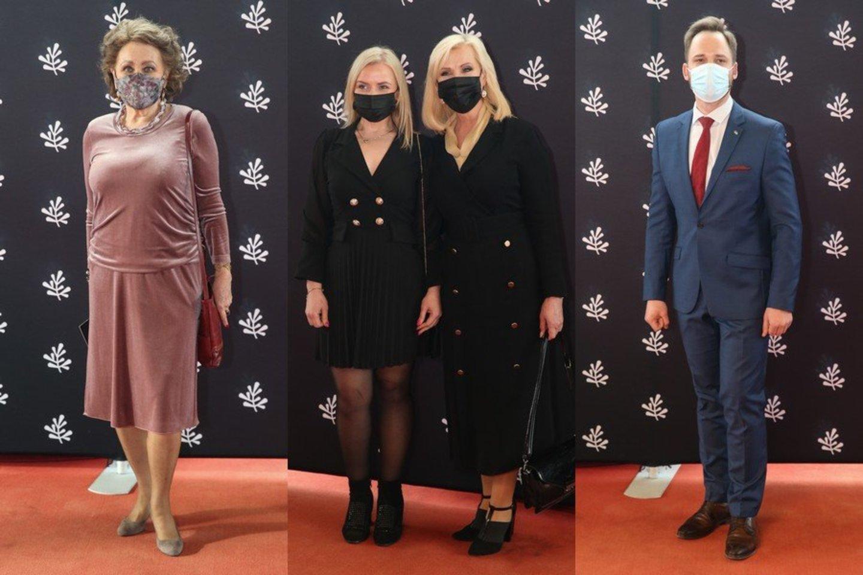 Iš kairės: Nijolė Kasparas, Laima Kybartienė (ponia dešinėje) ir Jonas Sakalauskas.<br>R.Danisevičiaus nuotr.