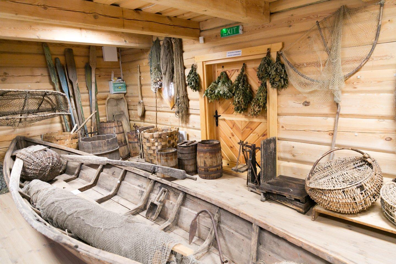 Lankytojai jau laukiami ir Ežerų žvejybos muziejuje.<br>T.Bauro nuotr.