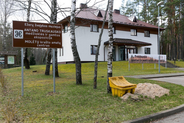 Ežerų žvejybos muziejus.<br>T.Bauro nuotr.