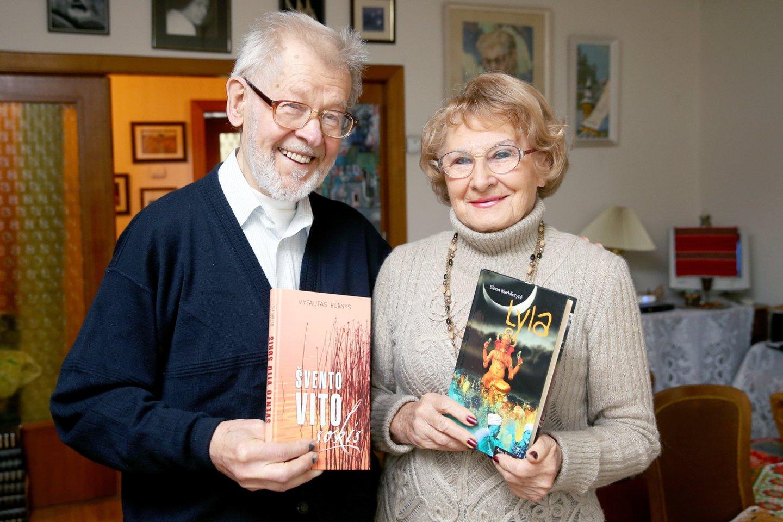 Vytautas Bubnys su žmona Elena Kurklietyte.<br>R.Danisevičiaus nuotr.