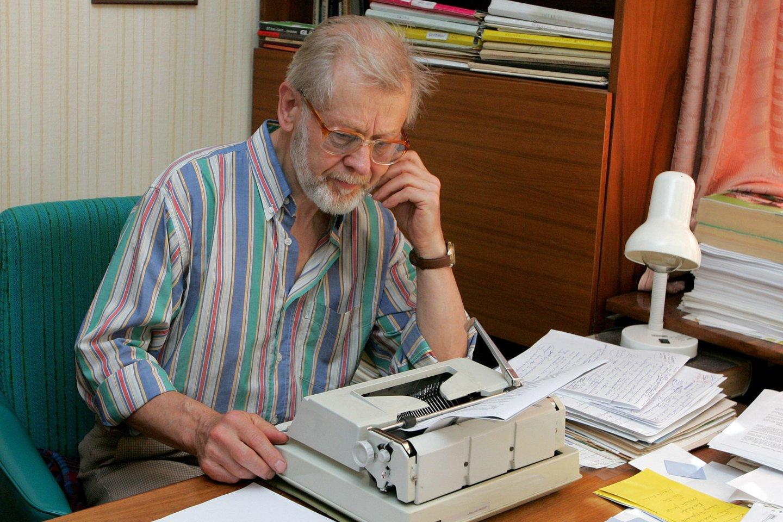 Rašytojas Vytautas Bubnys<br>R.Jurgaičio nuotr.