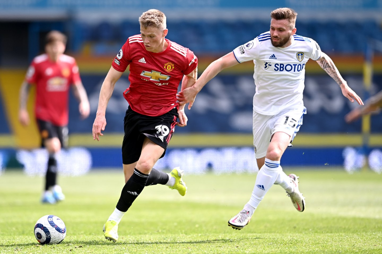 """Manchester United"" ir ""Leeds United"" mačas baigėsi 0:0.<br>Reuters/Scanpix.com nuotr."