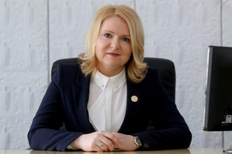 """""""Camelia"""" vaistinių tinklą valdančios """"Nemuno vaistinės"""" generalinė direktorė Aušra Budrikienė.<br>Pranešimo nuotr."""