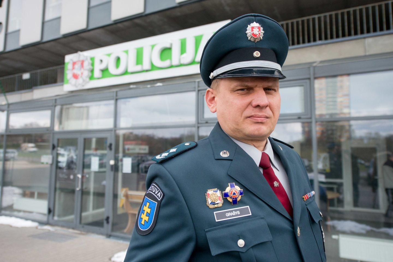 Vytautas Grašys<br>J.Stacevičiaus nuotr.