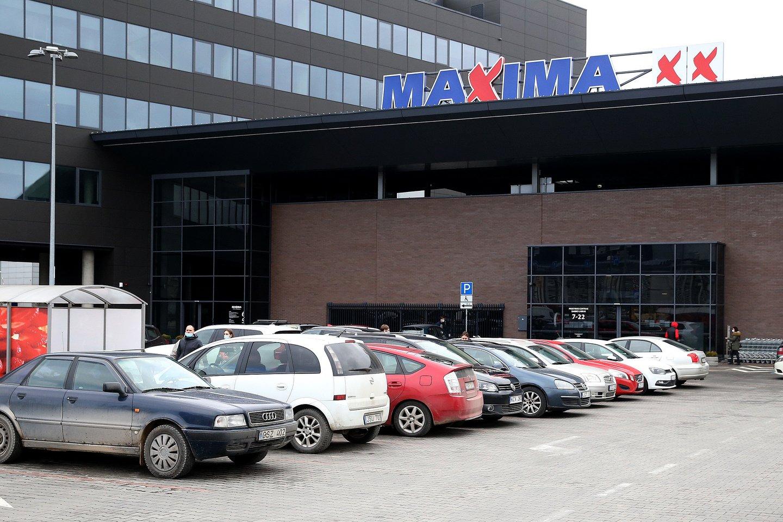 """Nuo gegužės 1 dienos ilginamas dalies prekybos tinklo """"Maxima"""" parduotuvių darbo laikas.<br>R.Danisevičiaus nuotr."""
