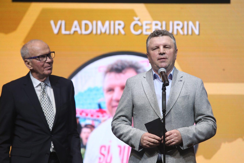 Vladimiras Čeburinas trejus metus iš eilės buvo išrinktas geriausiu Lietuvoje dirbančiu treneriu.<br>R.Danisevičiaus nuotr.