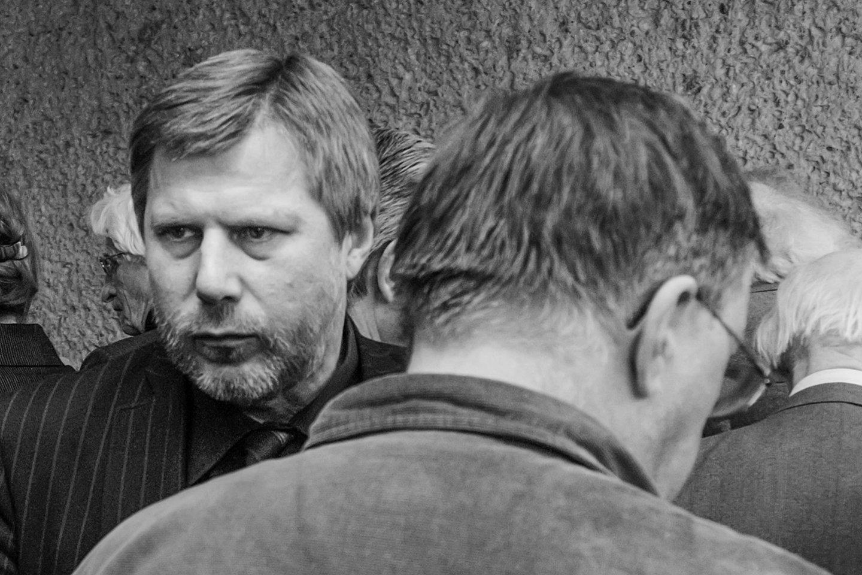 F.Latėnas (kairėje) ir V.Bartulis.<br>D.Matvejevo nuotr.