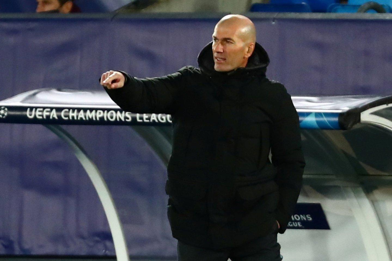 "Z.Zidane'as dar nėra kovojęs su ""Chelsea"" klubu.<br>Reuters/Scanpix nuotr."