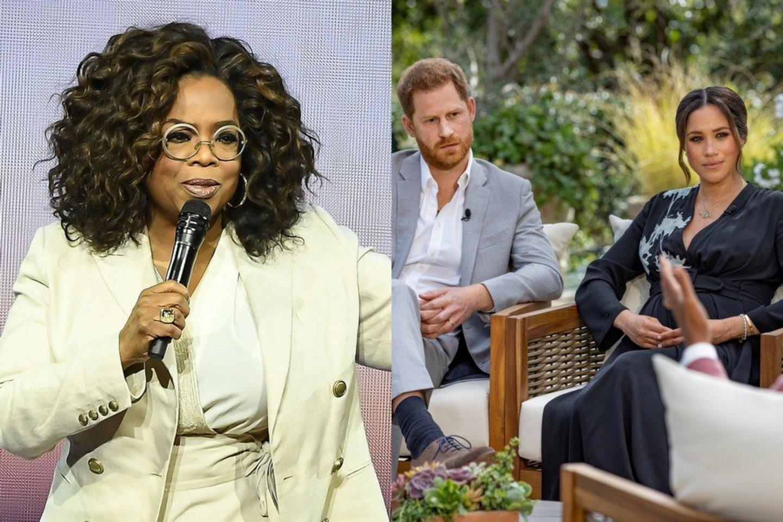 Pagaliau apie skandalingą interviu prabilo jo autorė Oprah Winfrey.<br>Scanpix nuotr.