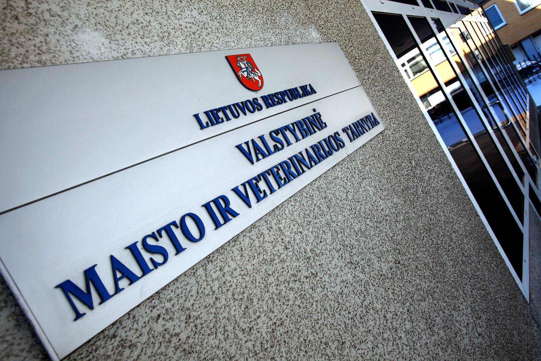 Valstybinė maisto ir veterinarijos tarnyba.<br>V.Balkūno nuotr.