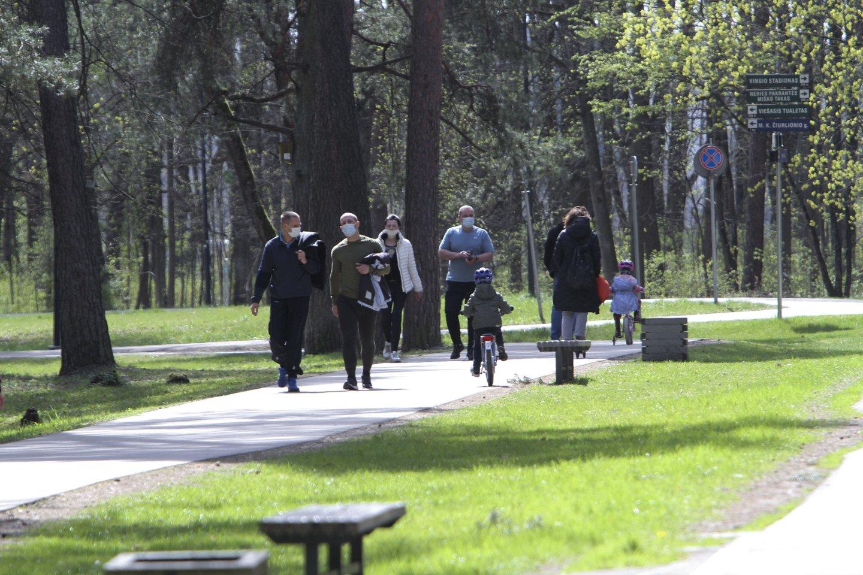 Pavasaris,gamta,paukščiai,Vingio parkas,orai<br>V.Ščiavinsko nuotr.