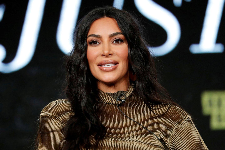 Kim Kardashian.<br>Scanpix nuotr.
