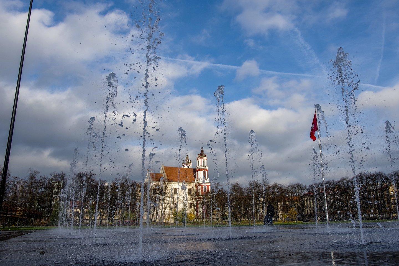 Lukiškių aikštės pertvarkymo projektai toliau kelia aistras.<br>V.Ščiavinsko nuotr.