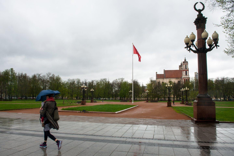 Lukiškių aikštės pertvarkymo projektai toliau kelia aistras.<br>J.Stacevičiaus nuotr.