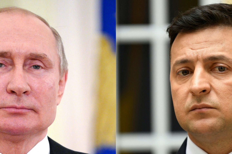 Kijevas ir Vakarai kaltina Rusiją remiant separatistus kariais ir ginklais. Maskva kaltinimus neigia.<br>AFP/Scanpix nuotr.