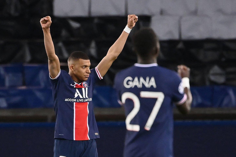 "UEFA Čempionų lygos pusfinalis: ""Paris Saint-Germain"" – ""Manchester City"".<br>AFP/Scanpix nuotr."