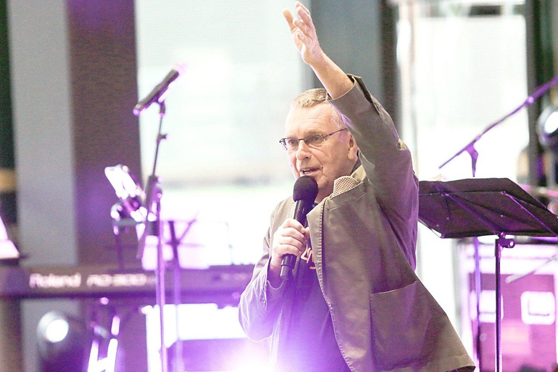 """Nors """"Kaunas Jazz"""" atidarymo koncerto vieta neskelbiama, festivalio rengėjas J.Jučas viliasi, kad džiazo gerbėjai tikrai širdimi pajus, kur jis vyks.<br>G.Bitvinsko nuotr."""