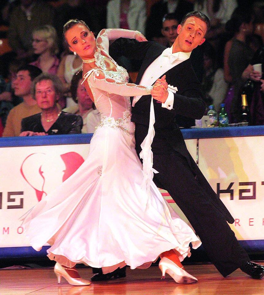Daugiausia pergalių E.Daniūtė iškovojo su A.Bižoku.<br>S.Stojkovic ir D.Danisevičiaus nuotr.