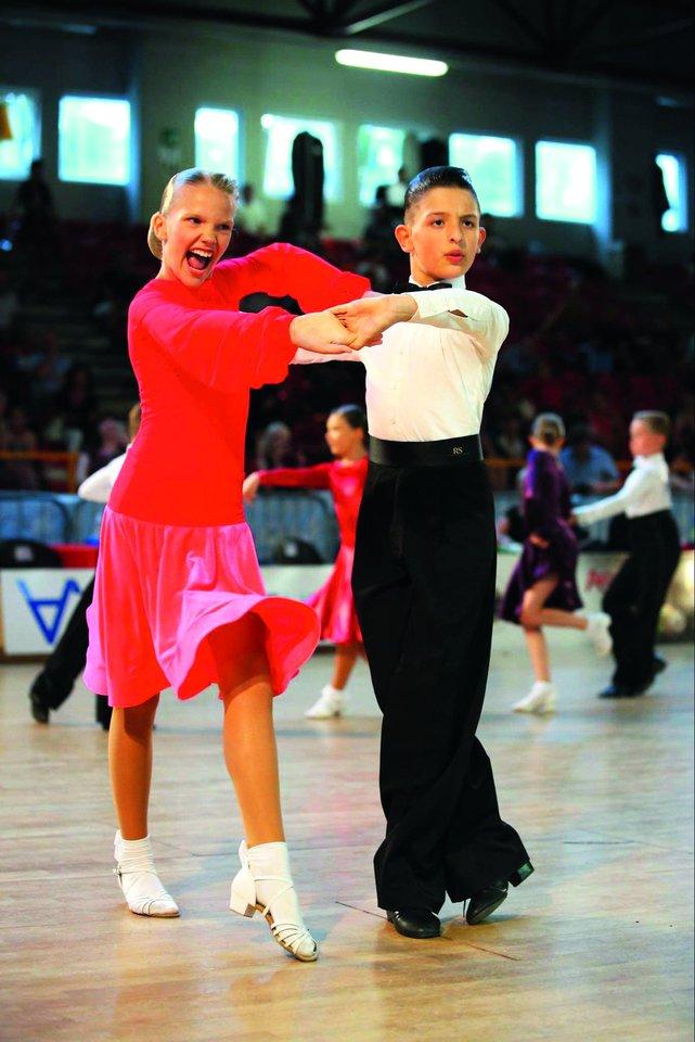Evita prieš keletą mėnesių metė šokius mamai pasakiusi, kad ant parketo daugiau niekada negrįš.<br>S.Stojkovic ir D.Danisevičiaus nuotr.